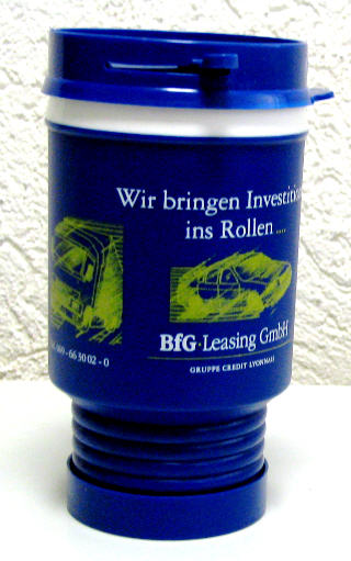 Trinkbecher BfG-Leasing