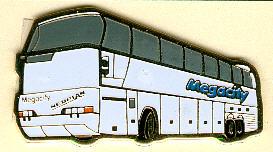 PIN NEOPLAN-Megacity N 128/3
