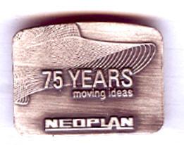 PIN NEOPLAN 75 Jahre Neoplan