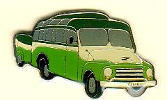 PIN Opel-Blitz mit Anhänger Baujahr 1956