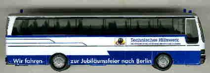 Herpa Setra S 215 HD THW -Jubiläumsfahrt Berlin-