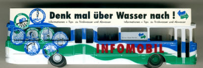 IMU Setra S 140 ES/Dachaufbau Berliner Wasserwerke Infomobil