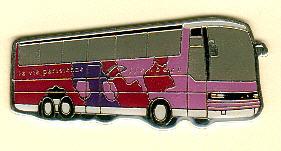 Schlüssel-Anhänger Setra S 215 HDH -  Offenbach