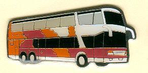 Schlüssel-Anhänger Setra S 328 DT Carmen