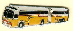 Krawatten-Nadel Kässbohrer Golden-Eagle-Gelenkbus