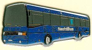 Krawatten-Nadel Setra NF -  Nachtbus WVG/RLG