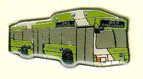 Schlüssel-Anhänger MAN-Erdgasbus ÜSTRA