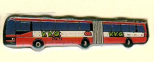 Schlüssel-Anhänger Setra-Gelenkbus RKH/VVG
