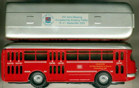 KOVAP/CKO Büssing-Stadtbus 1959 100 Jahre Büssing/DB mit Logo