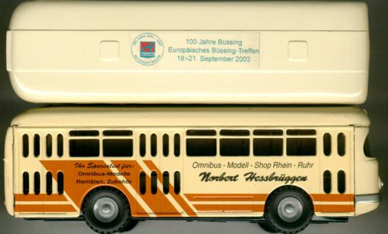KOVAP/CKO Büssing-Stadtbus 1959 100 Jahre Büssing mit Logo