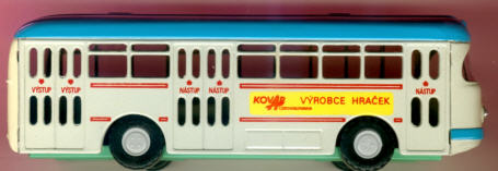 KOVAP/CKO Büssing-Stadtbus 1959 KOVAP VYROBCE HRACEK