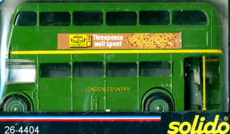 Solido London DD-Bus Threepence well spent