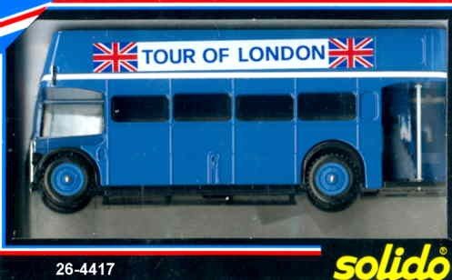 Solido London DD-Bus TOUR OF LONDON