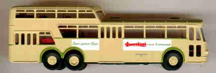 Brekina Büssing 1 1/2D-Bus Doornkaat         EVAG 318