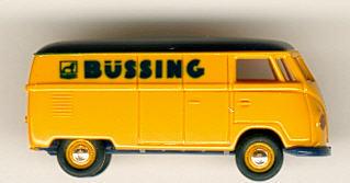 Brekina VW T1a Büssing-Kundendienst