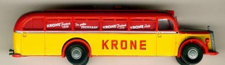 Brekina Mercedes Benz MB O 6600 Cirus-Krone