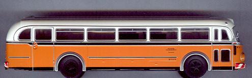 Brekina Mercedes Benz MB O 6600 H SSB, Werkstattwagen