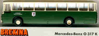 Brekina Mercedes Benz MB O 317 K Gemeindewerke GAP