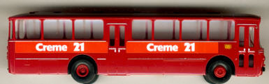Brekina Mercedes Benz MB O 317 K DB, Bahnbus  Creme 21