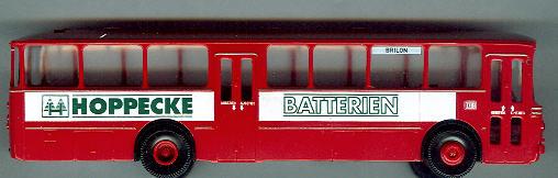 Brekina Mercedes Benz MB O 317 K DB/Hoppecke-Batterien