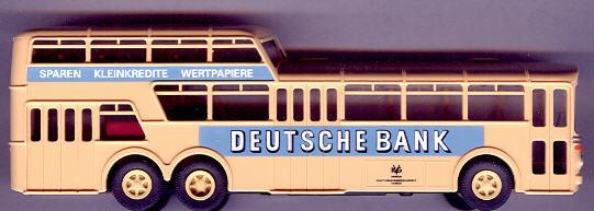 Brekina Mercedes Benz MB O 317 1 1/2-Decker KVG, Hameln