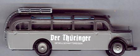 Praline Mercedes Benz MB  O 3500 Der Thüringer