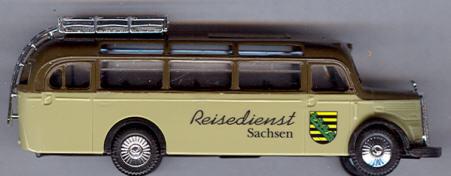 Praline Mercedes Benz MB  O 3500 Reisedienst Sachsen