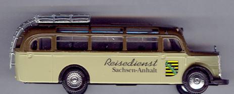 Praline Mercedes Benz MB  O 3500 Reisedienst Sachsen-Anhalt