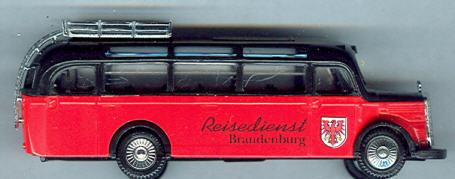Praline Mercedes Benz MB  O 3500 Reisedienst Brandenburg