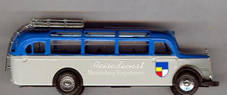 Praline Mercedes Benz MB  O 3500 Reised.Mecklenb.-Vorp.