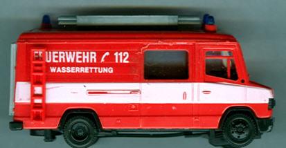 Praline Mercedes Benz MB  507-D FW Halb.Bus