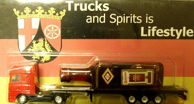 DAF Truck mit Berentzen