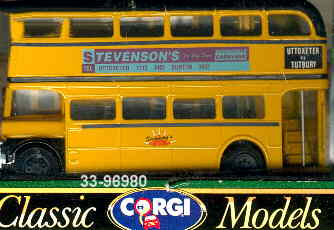 Corgi AEC-BUS DD Stevensons
