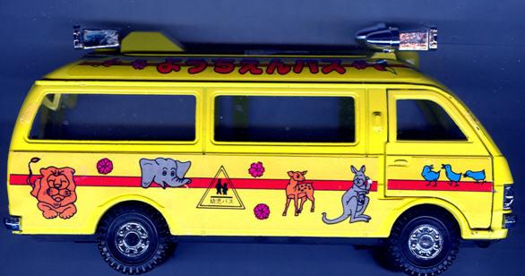 Diapet Toyota Hi ACE Kindergartenbus/Tiere