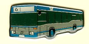 Schlüssel-Anhänger Mercedes Benz MB O 405 N2 Rüsselsheim