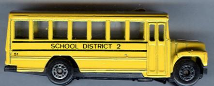 Matchbox Schulbus-US School District 2