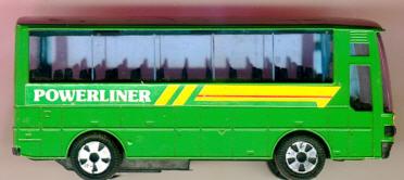 Blech Omnibus-Jumbo-Coach, 12 cm Powerliner