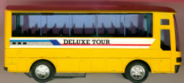Blech Omnibus-Jumbo-Coach, 12 cm Deluxe-Tour