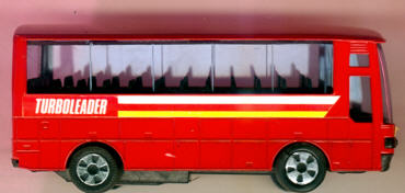 Blech Omnibus-Jumbo-Coach, 12 cm Turboleader