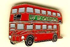 Schlüssel-Anhänger Routemaster RM 1180 -   London DD
