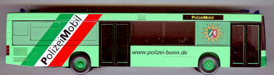 Wiking MAN NL PolizeiMobil