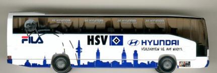 Wiking Mercedes Benz MB O 404 RHD HSV