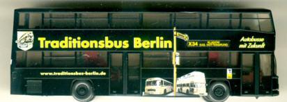 Wiking MAN D 89 Traditionsbus Berlin
