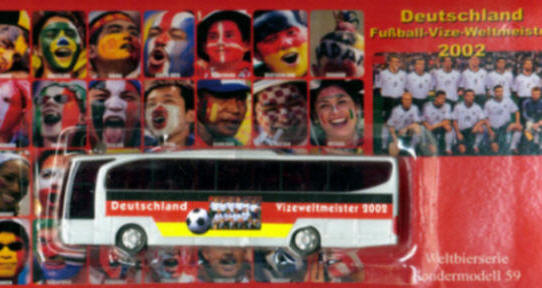 China/W Mercedes Benz MB  Travego Deutsch.Vize-Weltmeister2002