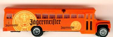 China/W US-Schulbus Jägermeister-Werbemodell