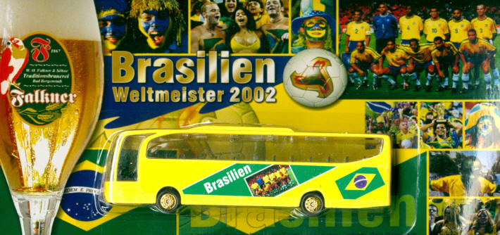 China/W Mercedes Benz MB  Travego Brasilien, Fußball-Weltmeist