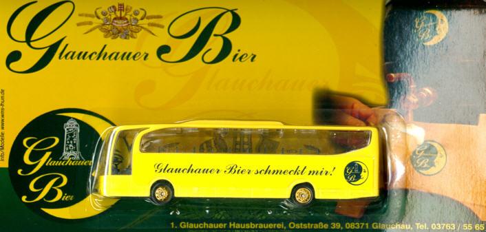China/W Mercedes Benz MB  Travego Glauchauer Bier schmeckt mir
