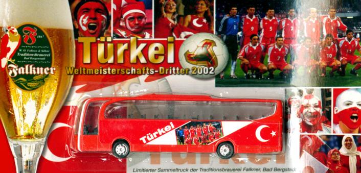 China/W Mercedes Benz MB  Travego Türkei Fußball-WM-Dritter