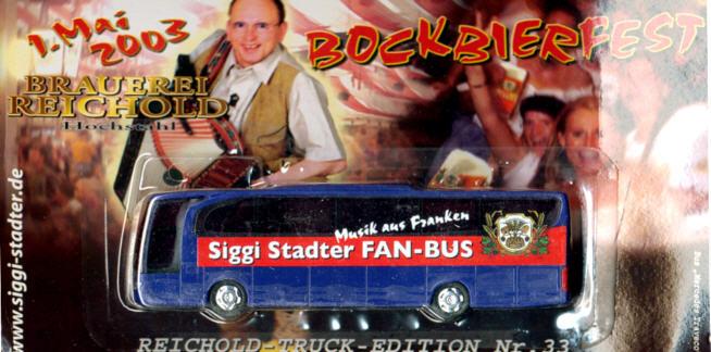 China/W Mercedes Benz MB  Travego Siggi Stadter Fan-Bus