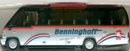 Siku Midi-Bus Benninghoff-Reisen